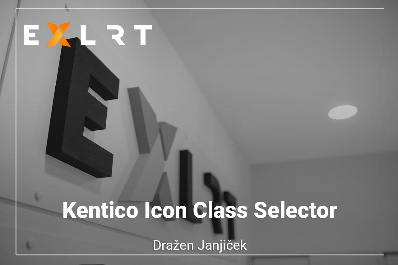 Kentico Icon Class Selector
