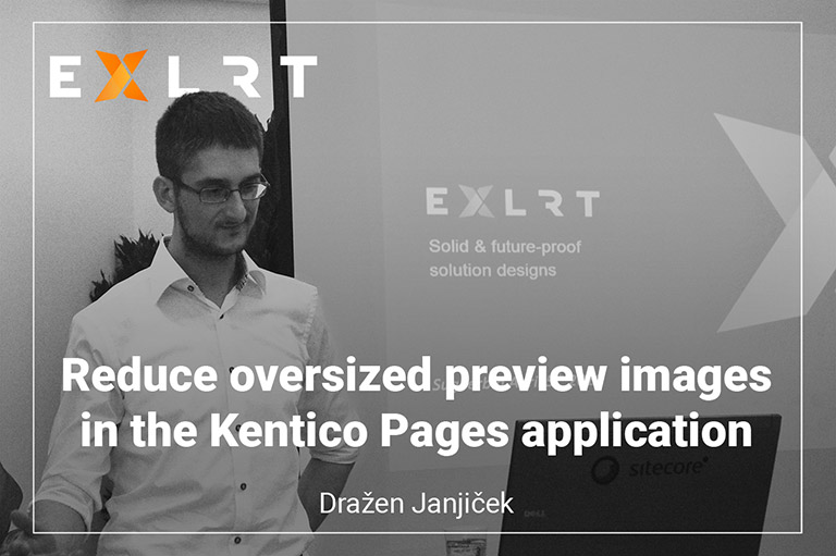 Reduce oversized preview images in the Kentico Pages application