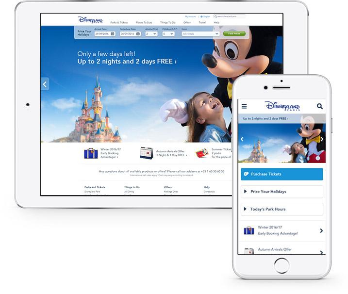 Disneyland Tridion Implementation